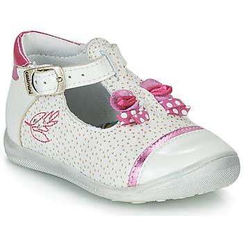 Pantofi Fete Sandale  Catimini CALATHEA Alb / Roz