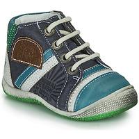 Pantofi Băieți Ghete Catimini CIGOGNE Albastru / Verde