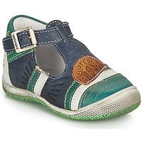 Pantofi Băieți Sandale și Sandale cu talpă  joasă Catimini COURLIS Albastru