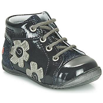 Pantofi Fete Pantofi sport stil gheata GBB NEIGE Bleumarin / Argintiu