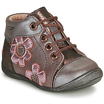 Pantofi Fete Ghete GBB NEIGE Violet / Roz