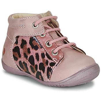 Pantofi Fete Ghete GBB NELLY Roz / Negru