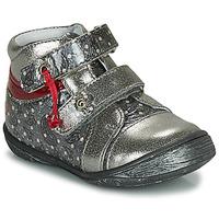 Pantofi Fete Ghete GBB NICOLINE Argintiu