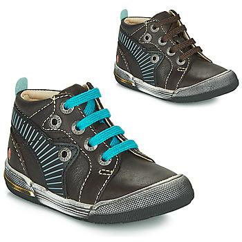 Pantofi Băieți Pantofi sport stil gheata GBB NOAH Maro / Albastru