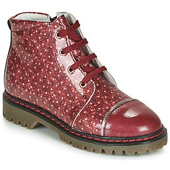 Pantofi Fete Ghete GBB NEVA Roșu