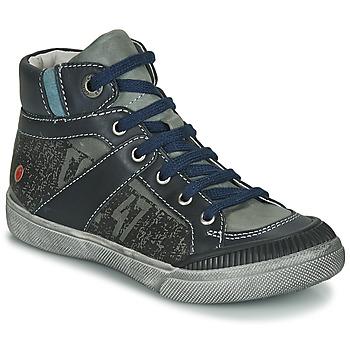 Pantofi Băieți Ghete GBB NESTOR Kaki / Bleumarin