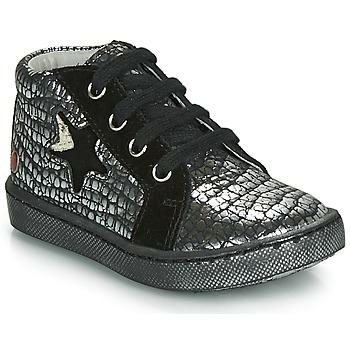 Pantofi Fete Pantofi sport stil gheata GBB LETO Negru / Argintiu
