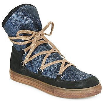 Pantofi Fete Cizme casual Achile ANGELA Albastru