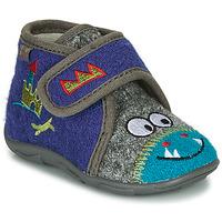 Pantofi Băieți Papuci de casă GBB NASTRIANO Albastru / Gri