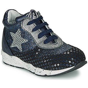 Pantofi Fete Pantofi sport Casual Ikks KAREN Albastru / Argintiu