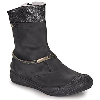 Pantofi Fete Ghete Ikks HILLARY Negru