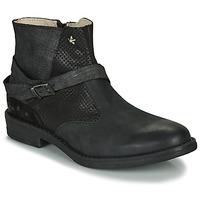 Pantofi Fete Ghete Ikks JANE Negru