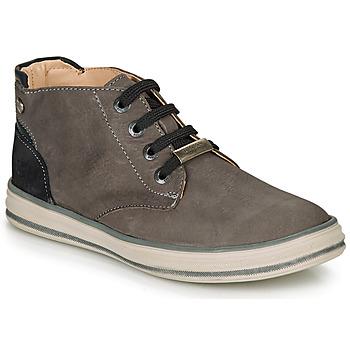 Pantofi Băieți Pantofi sport stil gheata Ikks MARK Gri