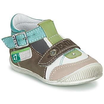 Pantofi Băieți Sandale  GBB PAUL Maro / Verde / Albastru