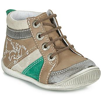Pantofi Băieți Ghete GBB PRAGUE Maro