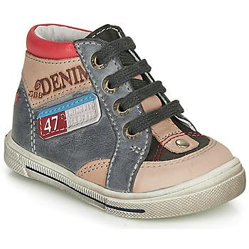 Pantofi Băieți Pantofi sport stil gheata GBB PARIS Gri / Bej