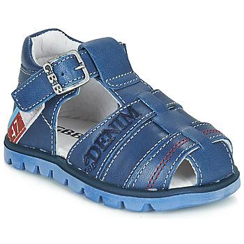 Pantofi Băieți Sandale și Sandale cu talpă  joasă GBB PELAGE Albastru