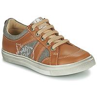 Pantofi Băieți Pantofi sport Casual GBB PALMYRE Coniac