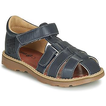 Pantofi Băieți Sandale și Sandale cu talpă  joasă GBB PATERNE Bleumarin
