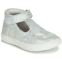 Pantofi Fete Balerin și Balerini cu curea GBB PARTHENON Argintiu