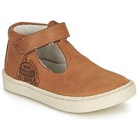 Pantofi Băieți Sandale  GBB PRESTON Coniac