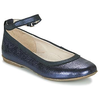 Pantofi Fete Balerin și Balerini cu curea Achile DANIELA Albastru