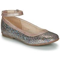 Pantofi Fete Balerin și Balerini cu curea Achile DANIELA Roz