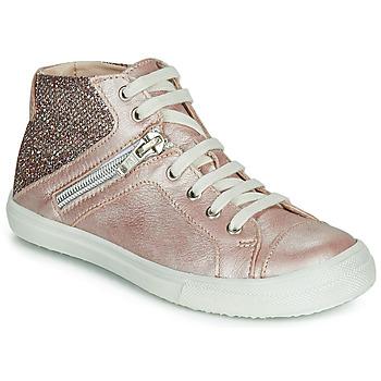 Pantofi Fete Pantofi sport stil gheata Achile KAMI Roz