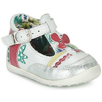 Pantofi Fete Sandale  Catimini PALOMINO Alb / Roz
