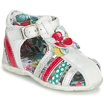 Pantofi Fete Sandale  Catimini PERSAN Alb /  multicolor