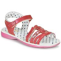 Pantofi Fete Sandale și Sandale cu talpă  joasă Catimini PASTEL Roz