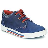 Pantofi Băieți Pantofi sport Casual Catimini PALETTE Albastru / Roșu