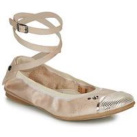 Pantofi Fete Balerin și Balerini cu curea Ikks EMILY Bej
