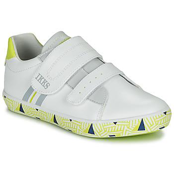 Pantofi Băieți Pantofi sport Casual Ikks JOE Alb / Galben