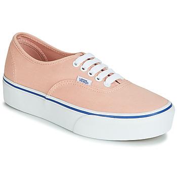 Pantofi Femei Pantofi sport Casual Vans AUTHENTIC PLATFORM 2.0 Roz