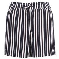 Îmbracaminte Femei Pantaloni scurti și Bermuda Only ONLPIPER Bleumarin / Alb