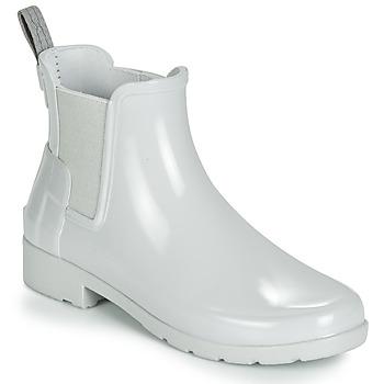 Pantofi Femei Cizme de ploaie Hunter ORIGINAL KIDS Gri