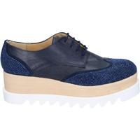 Pantofi Femei Pantofi Oxford  Olga Rubini Clasic BS96 Albastru