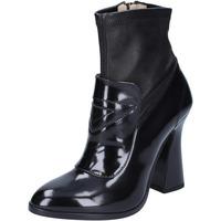 Pantofi Femei Botine Roberto Botticelli Botine BS280 Negru