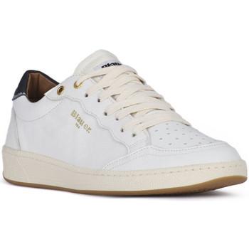 Pantofi Bărbați Pantofi sport Casual Blauer MURRAY 01 WHITE Bianco