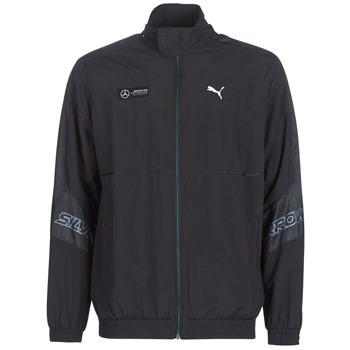 Îmbracaminte Bărbați Bluze îmbrăcăminte sport  Puma MAPM STREET WOVEN JACKET MERCEDES Negru