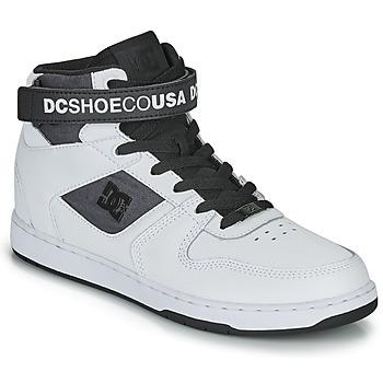 Pantofi Bărbați Pantofi sport stil gheata DC Shoes PENSFORD SE Alb / Negru