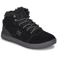 Pantofi Copii Pantofi sport stil gheata DC Shoes CRISIS HIGH WNT Negru