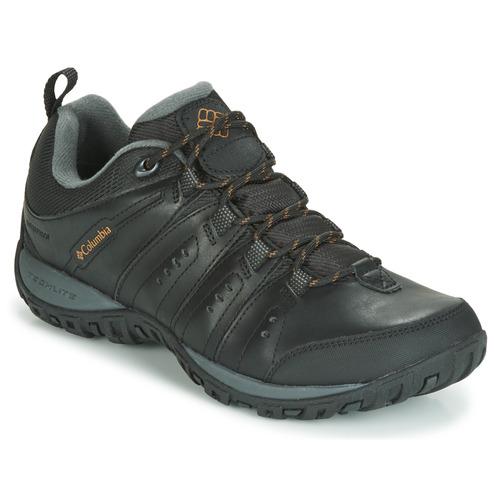 Pantofi Bărbați Multisport Columbia WOODBURN II WATERPROOF Negru