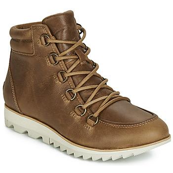Pantofi Femei Ghete Sorel HARLOW LACE Coniac