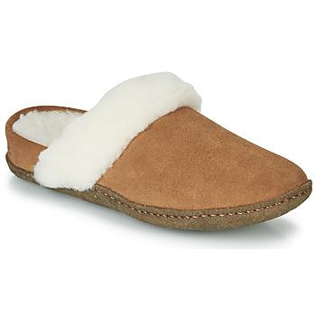 Pantofi Femei Papuci de casă Sorel NAKISKA SLIDE II Camel