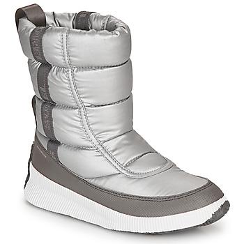 Pantofi Femei Cizme de zapadă Sorel OUT N ABOUT PUFFY MID Gri