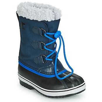 Pantofi Copii Cizme de zapadă Sorel YOOT PAC NYLON Bleumarin