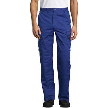 Îmbracaminte Pantaloni Cargo Sols ACTIVE PRO WORKS Azul