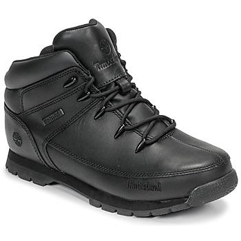 Pantofi Copii Ghete Timberland EURO SPRINT Negru